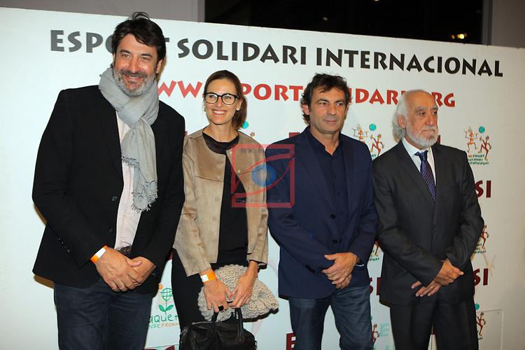 XIV Sopar Solidari de Nadal.<br /> Esport Solidari Internacional-ESI.<br /> Jordi Villacampa y Sra, Oscar Camps & Josep Maldonado.