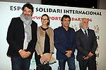 XIV Sopar Solidari de Nadal.<br /> Esport Solidari Internacional-ESI.<br /> Jordi Villacampa y Sra, Oscar Camps &amp; Josep Maldonado.