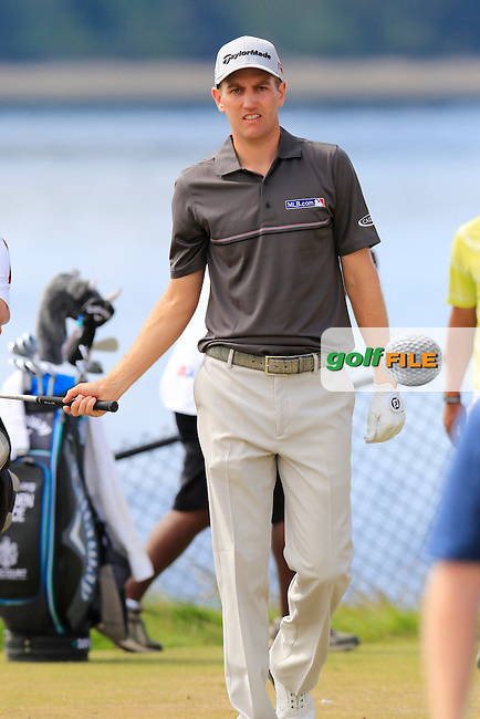 Brendon TODD (USA) walks off the 16th tee during Thursday's Round 1 of the 2015 U.S. Open 115th National Championship held at Chambers Bay, Seattle, Washington, USA. 6/18/2015.<br /> Picture: Golffile | Eoin Clarke<br /> <br /> <br /> <br /> <br /> All photo usage must carry mandatory copyright credit (&copy; Golffile | Eoin Clarke)