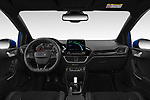 Stock photo of straight dashboard view of a 2018 Ford fiesta st Ultimate 5 Door Hatchback