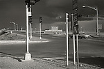 1973 Albuquerque, New Mexico. Interstate 25 access.
