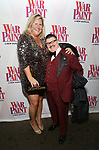 Bridget Everett and Murray Hill attends the Broadway Opening Night Performance of 'War Paint' at the Nederlander Theatre on April 6, 2017 in New York City