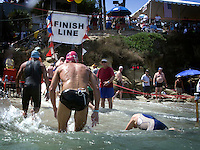 September 6 2008, La Jolla California.  Scenes from the water during the 78th annual La Jolla Rough Water Swim