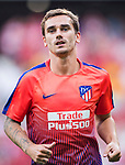 Antoine Griezmann of Atletico de Madrid is seen prior to the La Liga 2018-19 match between Atletico de Madrid and Rayo Vallecano at Wanda Metropolitano on August 25 2018 in Madrid, Spain. Photo by Diego Souto / Power Sport Images
