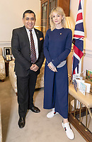 Carey Mulligan Meets Lord Ahmad at The Foreign Office