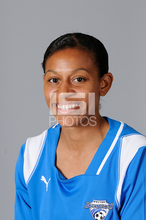 2009 Boston Breakers Head Shots..Candace Chapman