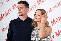 """American actress and director, Jodie Foster and american actor Jack O'Connell during the presentation of the film """"Money Monster"""" in Madrid. May 18, 2016. (ALTERPHOTOS/Borja B.Hojas) /NortePhoto.com"""
