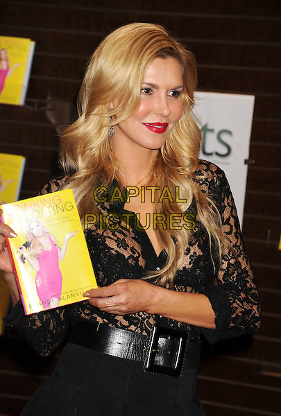 LOS ANGELES, CA- FEBRUARY 19: TV personality Brandi Glanville poses at her book signing For 'Drinking &amp; Dating' at Barnes &amp; Noble bookstore at The Grove on February 19, 2014 in Los Angeles, California.<br /> CAP/JOR<br /> &copy;Nils Jorgensen/Capital Pictures