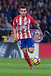 Atletico de Madrid Angel Martin Correa during La Liga match between Atletico de Madrid and Real Madrid at Wanda Metropolitano in Madrid, Spain. November 18, 2017. (ALTERPHOTOS/Borja B.Hojas)