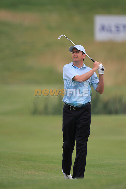 Peter lawrie playing into the 9th green on day three of the Alstom Open de France at .Golf National St Quentin en Yvelines, Paris France, 3/7/10.. Picture Fran Caffrey/www.newsfile.ie