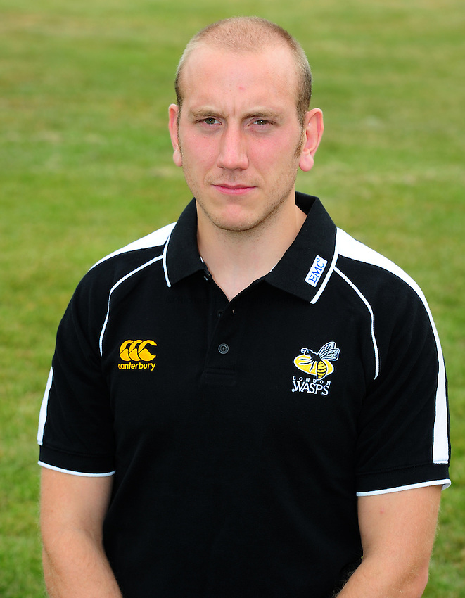 Photo: Richard Lane/Richard Lane Photography. London Wasps head shots. 19/07/2010. Huw Davies (Head of Strength and Conditioning).