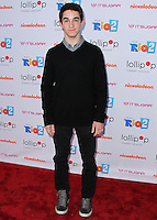 "BURBANK, CA, USA - APRIL 26: Zachary Gordon at the Lollipop Theater Network's Night Under The Stars Screening Of Twentieth Century Fox's ""Rio 2"" Hosted by Anne Hathaway held at Nickelodeon Animation Studios on April 26, 2014 in Burbank, California, United States. (Photo by Xavier Collin/Celebrity Monitor)"