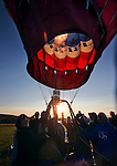 Balloons launch during media day of the 32nd annual Great Reno Balloon Race in Reno, Nev., on Thursday, Sept. 5, 2013.  <br /> Photo by Cathleen Allison