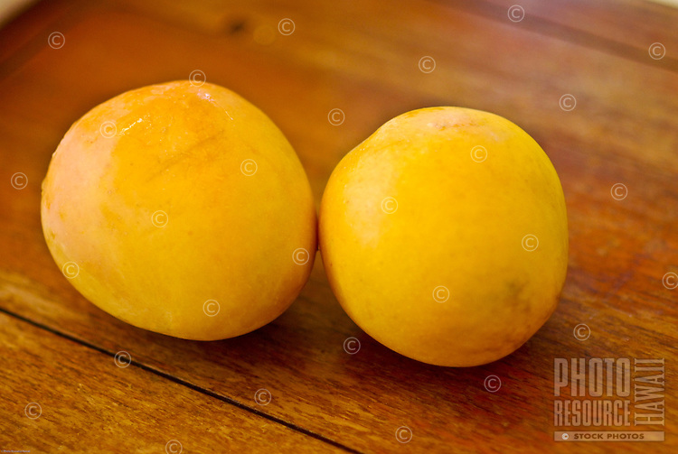 Locally grown mangoes