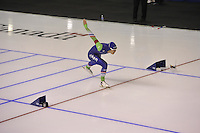 SPEEDSKATING: CALGARY: 14-11-2015, Olympic Oval, ISU World Cup, 1000m, Kai Verbij (NED), ©foto Martin de Jong