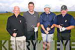 Michael Quade, Jack O'Brien, Pat Dorgan, Willie Murphy  at the Pat Mulcare Am Am at Tralee Golf Club, Barrow on Sunday