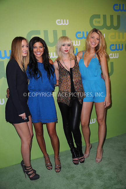 WWW.ACEPIXS.COM . . . . . ....May 21 2009, New York City....Leigton Meester, Jessica Szohr,Taylor Momsen and Blake Lively arriving at the 2009 The CW Network UpFront at Madison Square Garden on May 21, 2009 in New York City.....Please byline: KRISTIN CALLAHAN - ACEPIXS.COM.. . . . . . ..Ace Pictures, Inc:  ..tel: (212) 243 8787 or (646) 769 0430..e-mail: info@acepixs.com..web: http://www.acepixs.com