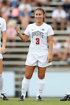 22 August 2014: Ohio State's Nicole Miyashiro. The Duke University Blue Devils played The Ohio State University Buckeyes at Fetzer Field in Chapel Hill, NC in a 2014 NCAA Division I Women's Soccer match. Ohio State won the game 1-0.