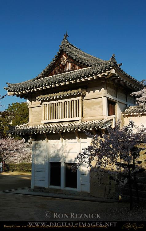 Himeji Castle Tsukimi Yagura Moon-Viewing Turret Nishi-no-Maru West Bailey Shirasagi-jo White Heron Castle Himeji Japan