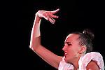 Ganna Rizatdinova (UKR), <br /> OCTOBER 4, 2015 - Rhythmic Gymnastics : <br /> AEON CUP 2015 Worldwide R.G. Club Championships <br /> exhibition event<br /> at Tokyo Metropolitan Gymnasium, Tokyo, Japan. <br /> (Photo by AFLO SPORT)