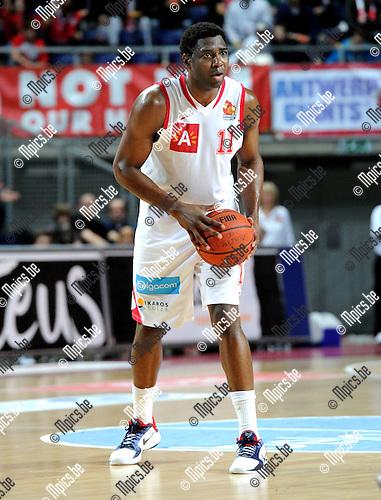 2010-12-11 / Basketbal / seizoen 2010-2011 / Antwerp Giants - Bergen / Trent Strickland..Foto: Mpics