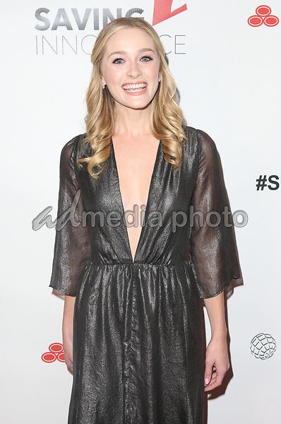 30 September 2017 - Los Angeles, California - Greer Grammer. 6th Annual Saving Innocence Gala held at Loews Hollywood Hotel. Photo Credit: F. Sadou/AdMedia
