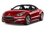 2014 Peugeot RCZ R 2 Door Coupe 2WD Angular Front stock photos of front three quarter view