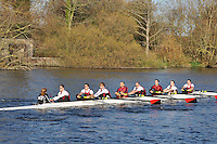 163 .VRC-Wiles .IM1.8+ .Vesta RC. Wallingford Head of the River. Sunday 27 November 2011. 4250 metres upstream on the Thames from Moulsford railway bridge to Oxford University's Fleming Boathouse in Wallingford. Event run by Wallingford Rowing Club.