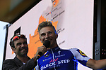 Marcel Kittel (GER) Quick-Step Floors team on stage at the Team Presentation in Burgplatz Dusseldorf before the 104th edition of the Tour de France 2017, Dusseldorf, Germany. 29th June 2017.<br /> Picture: Eoin Clarke | Cyclefile<br /> <br /> <br /> All photos usage must carry mandatory copyright credit (&copy; Cyclefile | Eoin Clarke)