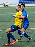 Kitchee vs HKFC Captain's Select during day two of the HKFC Citibank Soccer Sevens 2015 on May 30, 2015 at the Hong Kong Football Club in Hong Kong, China. Photo by Xaume Olleros / Power Sport Images