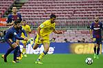League Santander 2017/2018 - Game: 7.<br /> FC Barcelona vs UD Las Palmas: 3-0.<br /> Gerard Pique vs Jonathan Calleri.