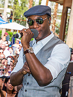 LAS VEGAS, NV - April 19 : Aloe Blacc performs at REHAB at Hard Rock Hotel & Casino in Las Vegas, NV on Aporil 19, 2014. © Kabik/ Starlitepics ***HOUSE COVERAGE*** /NortePhoto