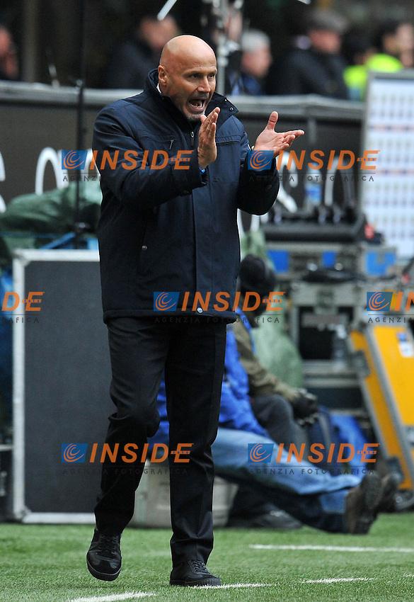 "Stefano COLANTUONO (Atalanta).Milano 18/03/2012 Stadio ""Giuseppe Meazza"".Serie A 2011/2012.Football Calcio Inter Vs Atalanta.Foto Insidefoto Alessandro Sabattini."