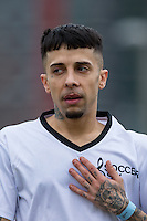Dappy (Musician / Celebrity Big Brother) during the SOCCER SIX Celebrity Football Event at the Queen Elizabeth Olympic Park, London, England on 26 March 2016. Photo by Andy Rowland.