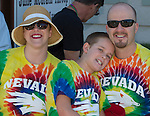 Lindsay, Paul and Jay Culbert attend the Northern Nevada Pride Parade and Festival in Reno on Saturday, July 23, 2016.