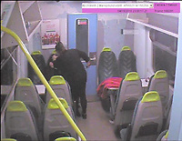 "Pictured: CCTV picture showing Lisa Savage attacking her friend<br /> Re: Woman jailed for life after violent train stabbing - South Wales<br /> A woman who stabbed her friend in a violent attack on board an Arriva Trains Wales service has today been jailed for life.<br /> Lisa Savage, 42, of Aberdare, South Wales, appeared at Cardiff Crown Court on 16 October where she was sentenced, having pleaded guilty to attempted murder at a previous hearing. <br /> On 15 April, Savage and the 43-year-old woman boarded the 10.33pm Gloucester to Cardiff Central service. The court heard the pair had spent the day drinking and soon began to argue. <br /> Savage then kicked and punched her victim, before pulling out a blade and stabbing her repeatedly. She was left with multiple lacerations to her face and hands which required surgery, and a deep stab wound to her neck. <br /> Savage left the train at Chepstow Station, leaving the victim bleeding heavily on the floor. <br /> Following enquiries by BTP, Savage was located in a nearby car park and arrested by local officers. She laughed and told police: ""I'm happy"" and ""I took her out didn't I."" In addition to the blade used, officers also found a large kitchen knife in her handbag.<br />  Savage was sentenced to life in prison, where she will serve a minimum of eight years and four months. <br /> In a statement provided to police, the victim said she now struggles to leave the house, and has suffered violent flashbacks of the incident. She has now been told she will never be able to fully open her right eye again, and her vision will never return to normal. <br /> Temporary DCI Jaci Thomas said: ""This was a shocking and vicious attack, and I am pleased we have been able to bring Lisa Savage to justice. <br /> ""I would particularly like to thank my team for their outstanding contributions to this case, which has seen Lisa Savage receive a long custodial service and a dangerous woman removed from the streets."""