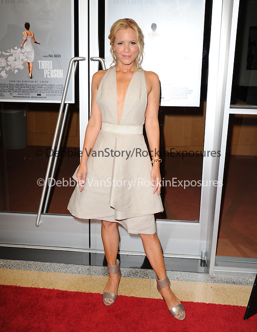 "Maria Bello  attends The Sony Picture Classics LA Premiere of ""THIRD PERSON"" held at The Pickford Center for Motion Picture Studio / Linwood Dunn Theatrein Hollywood, California on June 09,2014                                                                               © 2014 Hollywood Press Agency"