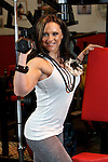 Pix: Shaun Flannery/shaunflanneryphotography.com..COPYRIGHT PICTURE>>SHAUN FLANNERY>01302-570814>>07778315553>>..7th June 2010............Champion fitness body builder and dancer Kizzy Vaines of Barnsley.