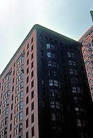 Burnham & Root: Monadnock Building, 1891. 53 W. Jackson, Chicago.  Photo '77.