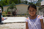 A school girl in Coba, Mexico.