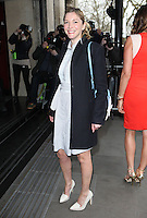 Lisa Faulkner arriving for the TRIC Awards 2014, at Grosvenor House Hotel, London. 11/03/2014 Picture by: Alexandra Glen / Featureflash