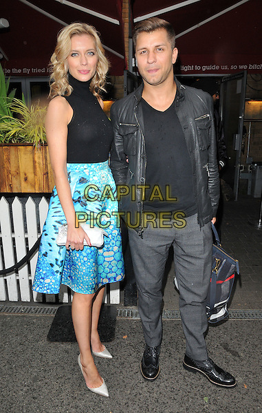 Rachel Riley &amp; Pasha Kovalev attend the &quot;The Self-Esteem Team's Guide to...Sex, Drugs &amp; WTFs?&quot; book launch party, Zigfrid Von Underbelly, Hoxton Square, London, England, UK, on Wednesday 19 August 2015. <br /> CAP/CAN<br /> &copy;Can Nguyen/Capital Pictures