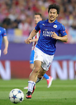 Leicester City FC's Shinji Okazaki during Champions League 2016/2017 Quarter-finals 1st leg match. April 12,2017. (ALTERPHOTOS/Acero)