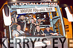 The Home coming in Ardfert of the Ardfert Team after winning the intermediate  All-Ireland club football final at Croke Park on Sunday