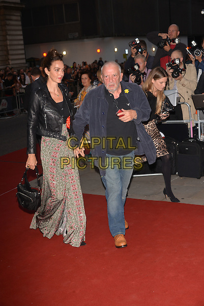 LONDON, ENGLAND SEPTEMBER 02: David Bailey and wife Catherine Dyer attend the GQ Men of the Year 2014 awards in association with Hugo Boss at The Royal Opera House on September 2, 2014 in London, England.<br /> CAP/PL<br /> &copy;Phil Loftus/Capital Pictures