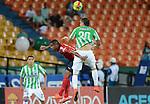 Medellín- Atlético Nacional derrotó 1 gol por 0 a Deportivo Independiente Medellín, en el partido correspondiente a la novena fecha del Torneo Clausura 2014, desarrollado en el estadio Atanasio Girardot.