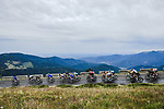 Mountain scenery for the peloton during Stage 6 of the 2019 Tour de France running 160.5km from Mulhouse to La Planche des Belles Filles, France. 11th July 2019.<br /> Picture: ASO/Pauline Ballet | Cyclefile<br /> All photos usage must carry mandatory copyright credit (© Cyclefile | ASO/Pauline Ballet)