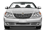 Straight front view of a 2008 Chrysler Sebring Convertible