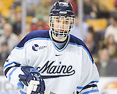 Mike Lundin - The Boston College Eagles defeated the University of Maine Black Bears 4-1 in the Hockey East Semi-Final at the TD Banknorth Garden on Friday, March 17, 2006.