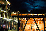 KRASNAYA POLYANA, RUSSIA  - JANUARY 5:<br /> A construction crew works at building a structure at the Gorky Gorod hotel complex in the Mountain Cluster before the start of the 2014 Sochi Olympics Wednesday February 5, 2014<br /> (Photo by Chris Detrick/The Salt Lake Tribune)